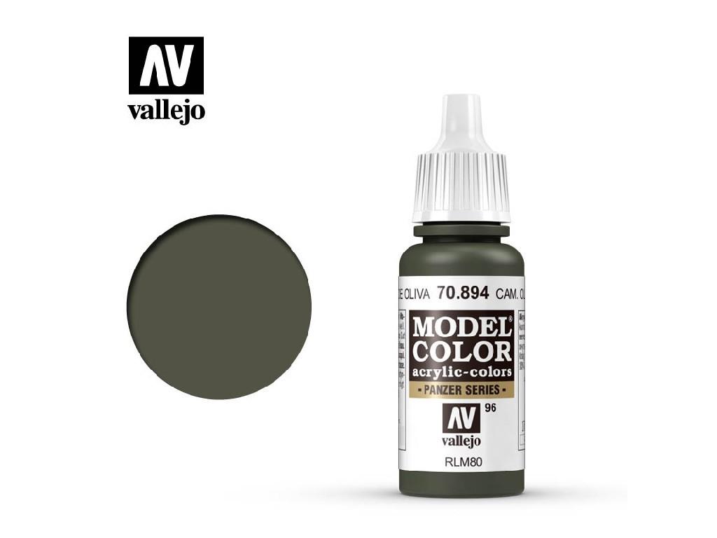 Vallejo Model Color - 96 Cam. Olive Green 17 ml. 70894