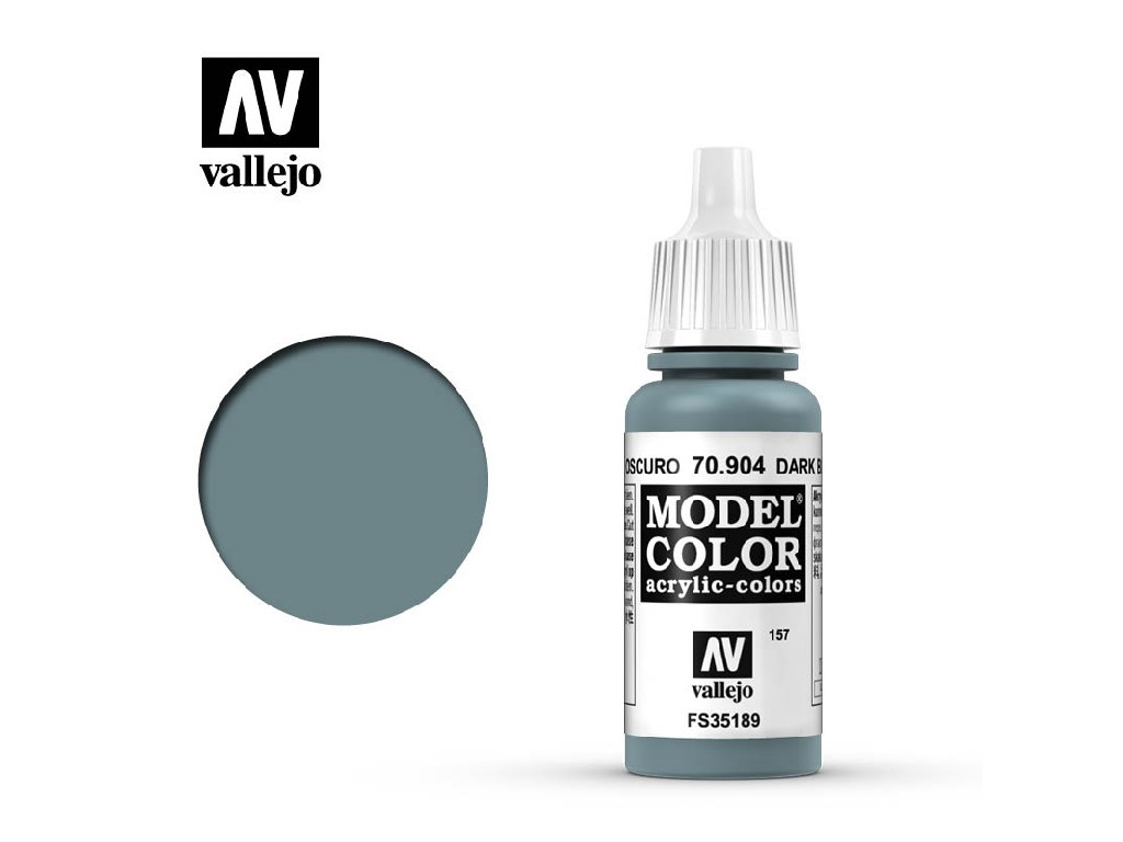 Vallejo Model Color - 157 Dark Blue Grey 17 ml. 70904
