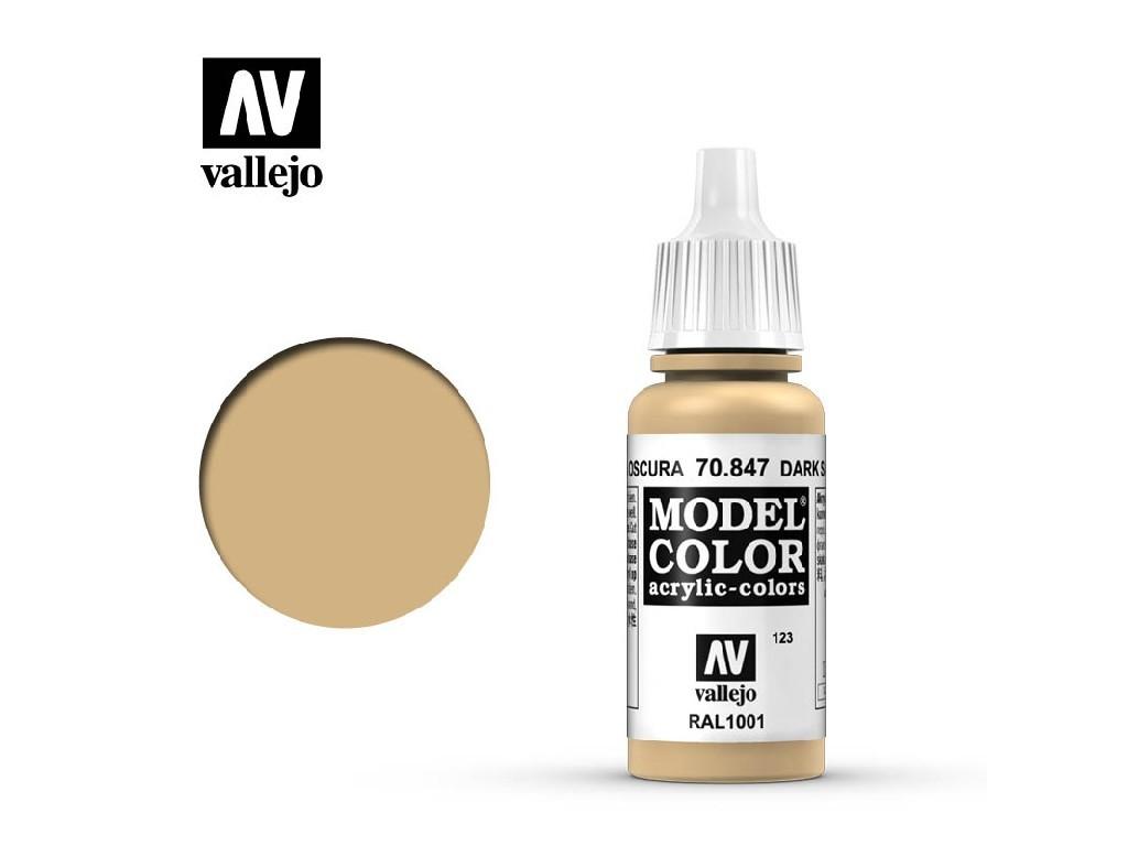 Vallejo Model Color - 123 Dark Sand 17 ml. 70847