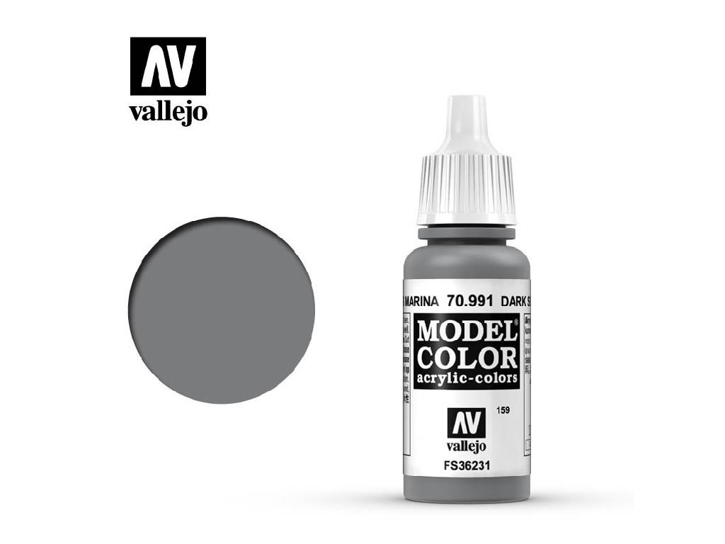 Vallejo Model Color - 159 Dark Sea Grey 17 ml. 70991