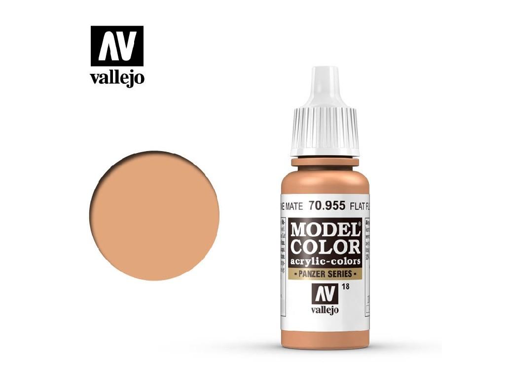 Vallejo - Model Color 18 Flat Flesh 17 ml. 70955
