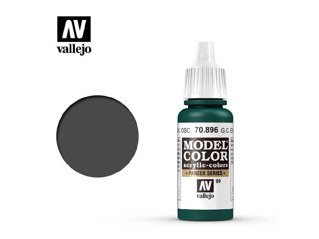 Vallejo Model Color - 99 Ger. Cam. Extra Dark Green 17 ml. 70896