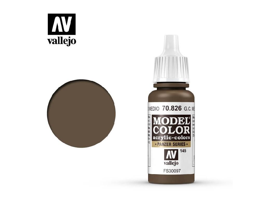 Vallejo Model Color - 145 German Cam. Med.Brown 17 ml. 70826