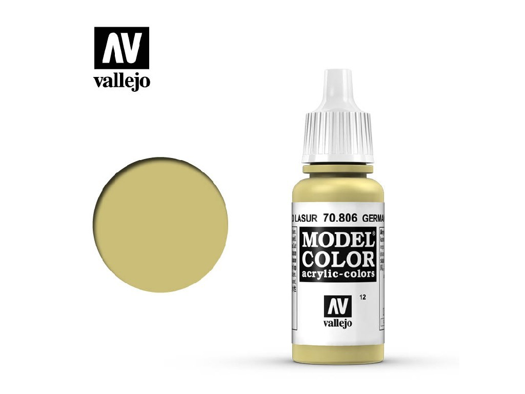 Vallejo - Model Color 12 German Yellow 17 ml. 70806