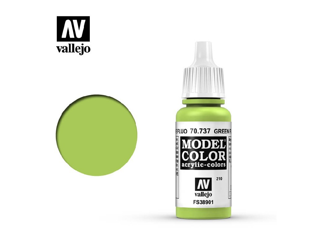 Vallejo Model Color - 210 Green Fluo 17 ml. 70737