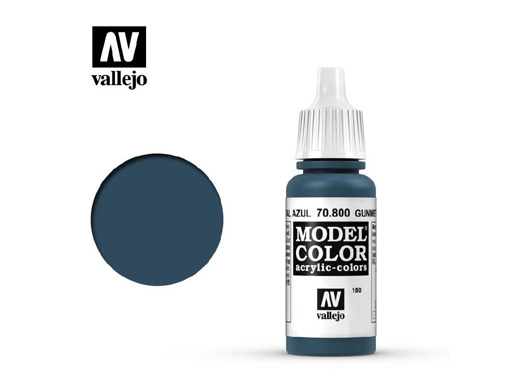 Vallejo Model Color - 180 Metal Blue 17 ml. 70800