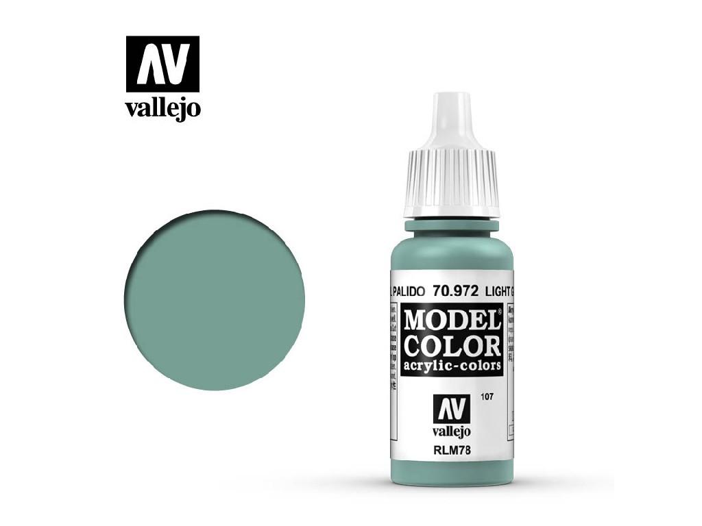 Vallejo - Model Color 107 Light Green Blue 17 ml. 70972