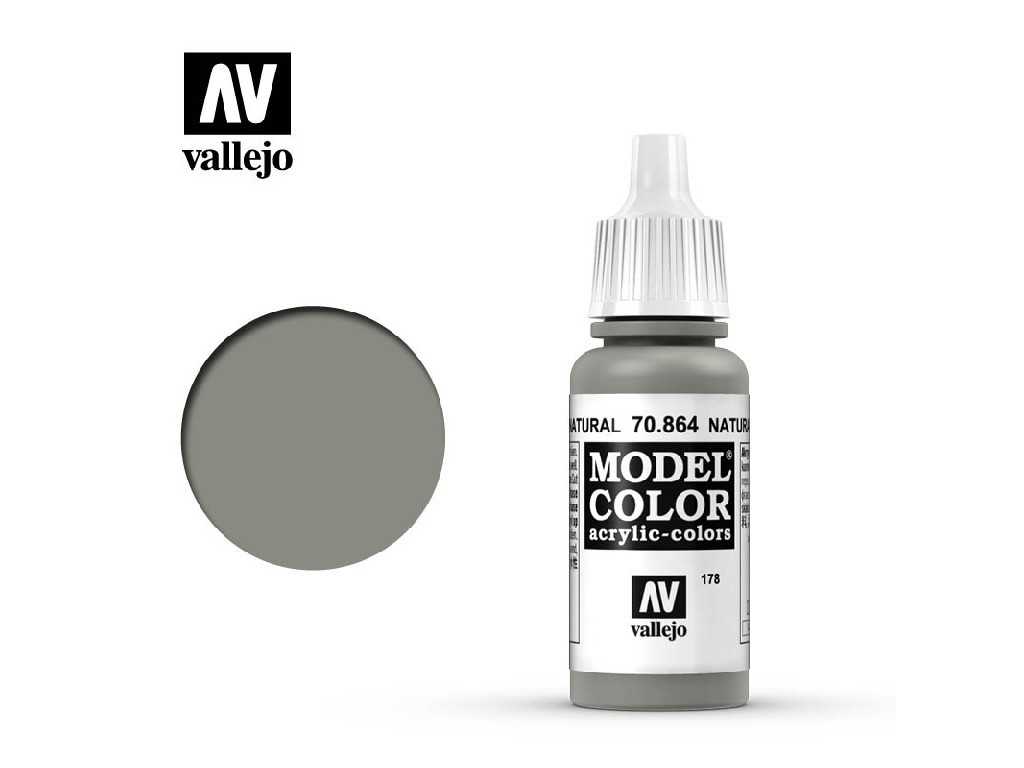 Vallejo Model Color - 178 Natural Steel 17 ml. 70864