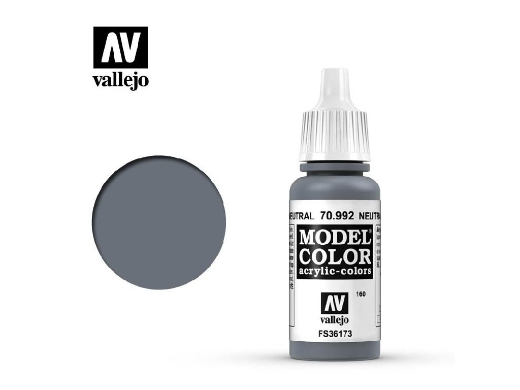 Vallejo Model Color - 160 Neutral Grey 17 ml. 70992