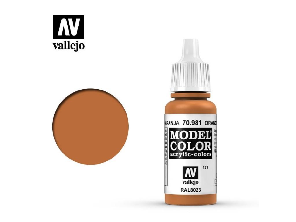 Vallejo - Model Color 131 Orange Brown 17 ml. 70981