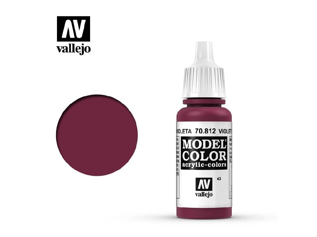 Vallejo Model Color - 43 Violet Red 17 ml. 70812