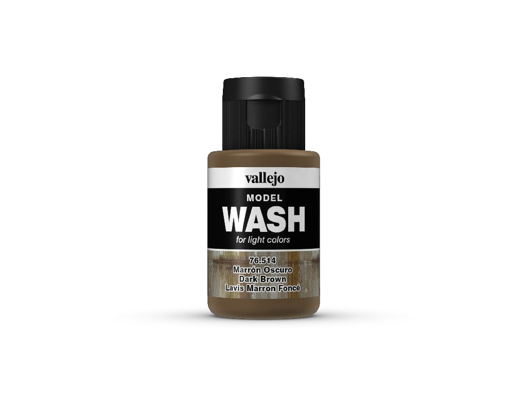 Vallejo Wash - Dark Brown 76514 35 ml.