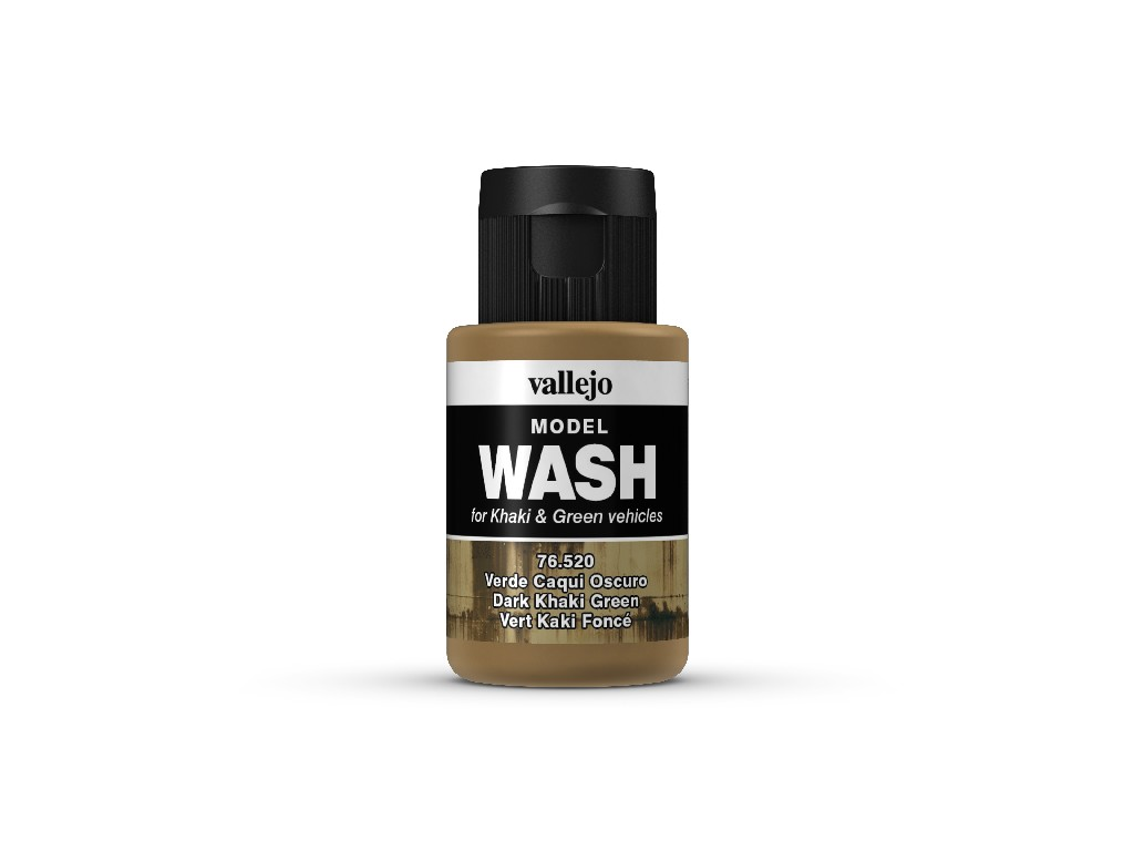 Vallejo Wash - Dark Khaki Green 76520 35 ml.