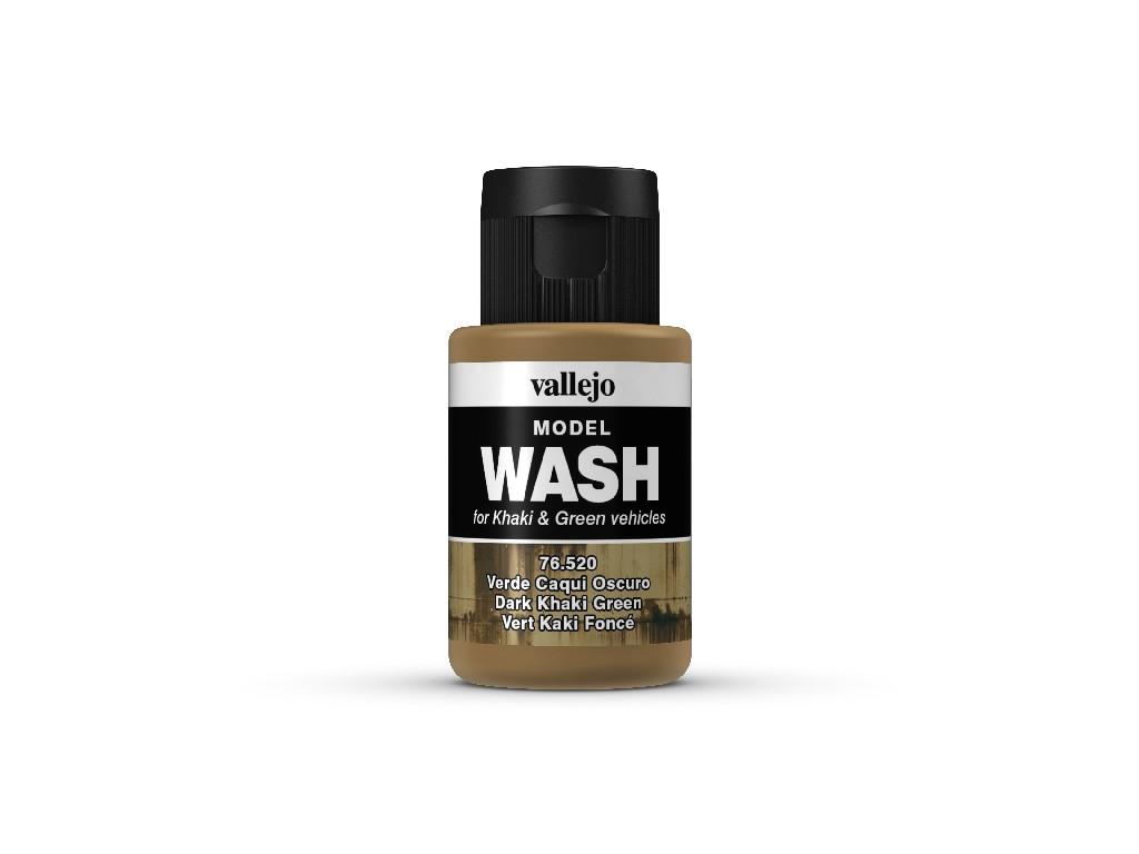 Vallejo Wash - Dark Khaki Green 76520 35 ml.