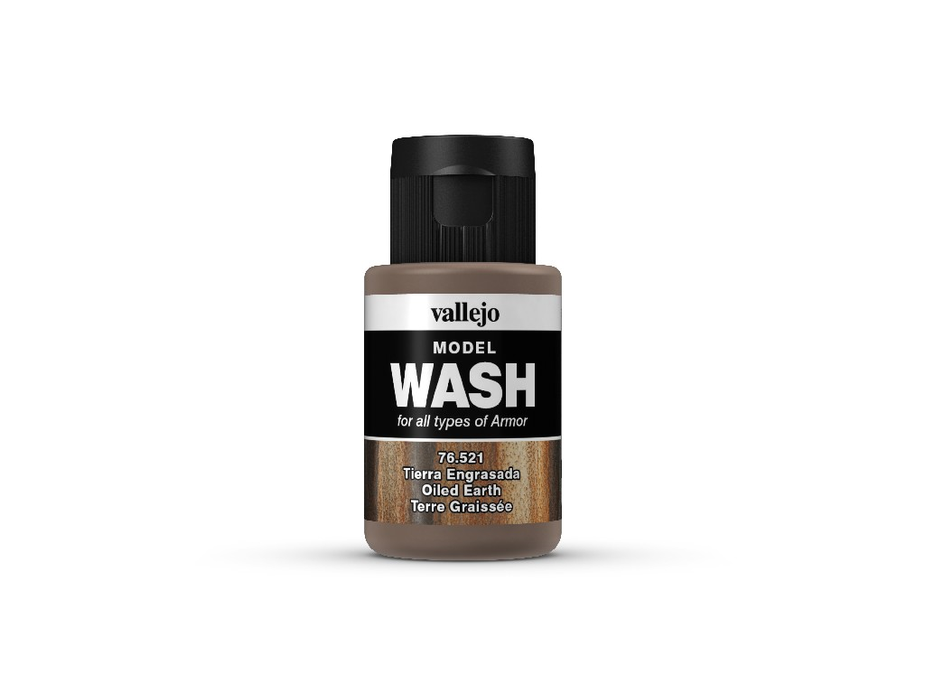 Vallejo Wash - Oiled Earth 76521 35 ml.