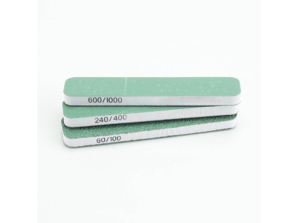 Vallejo Náradie - Sada 3 ks flexibilných obojstranných brusítok (90x19x6mm) T04001