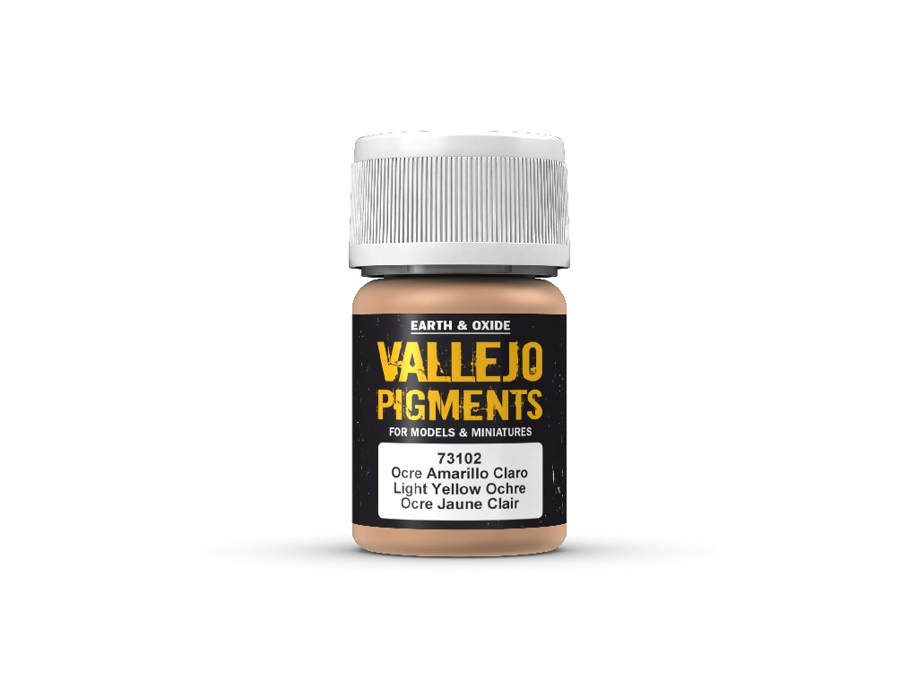 Vallejo Pigmenty - Light Yellow Ochre 73102 35 ml.