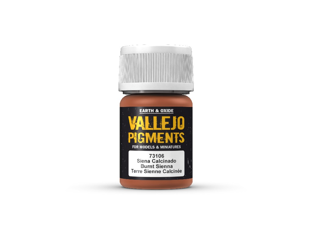 Vallejo Pigmenty - Burnt Sienna 73106 35 ml.