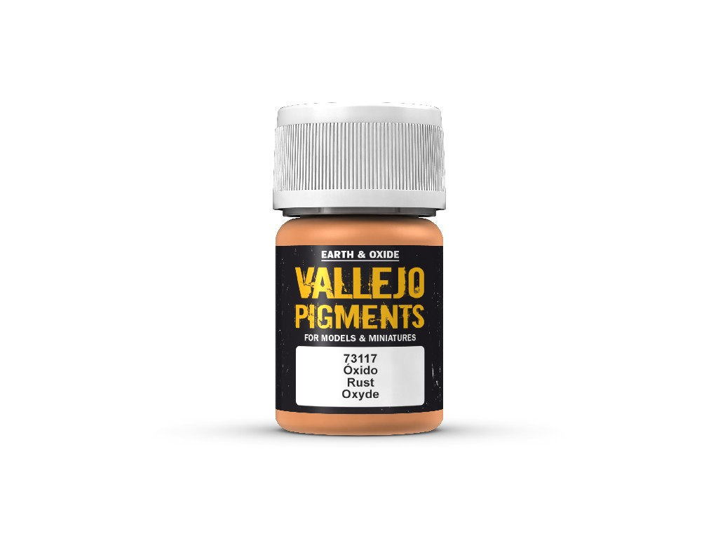 Vallejo Pigmenty - Rust 73117 35 ml.