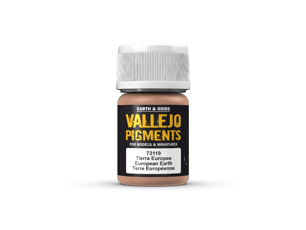 Vallejo Pigmenty - European Earth 73119 35 ml.