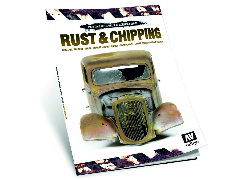 Vallejo Kniha -  Rust and Chipping 75011