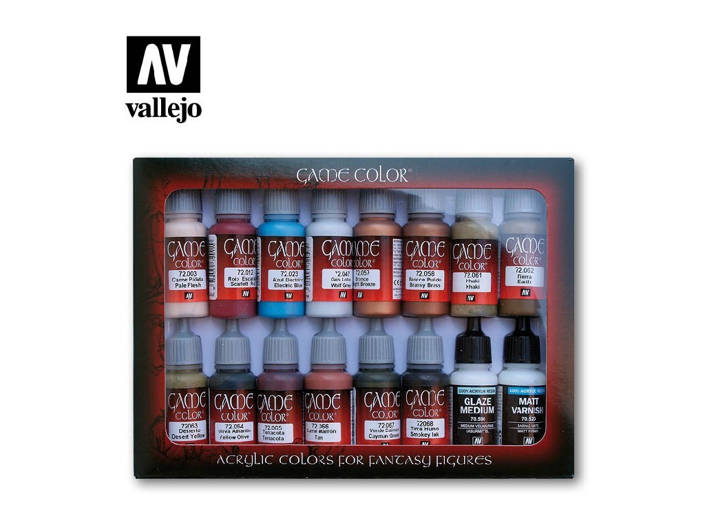 Vallejo Game Color Set - Specialist 16 x 17 ml. 72297