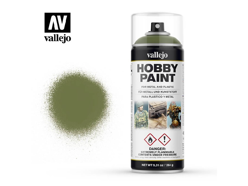 Vallejo - Aerosol 28027 Goblin Green 400 ml.