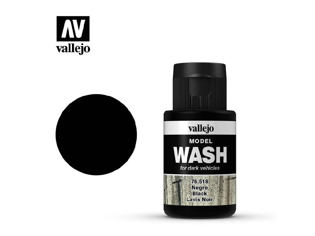 Vallejo - Model Wash 76518 Black 35 ml.