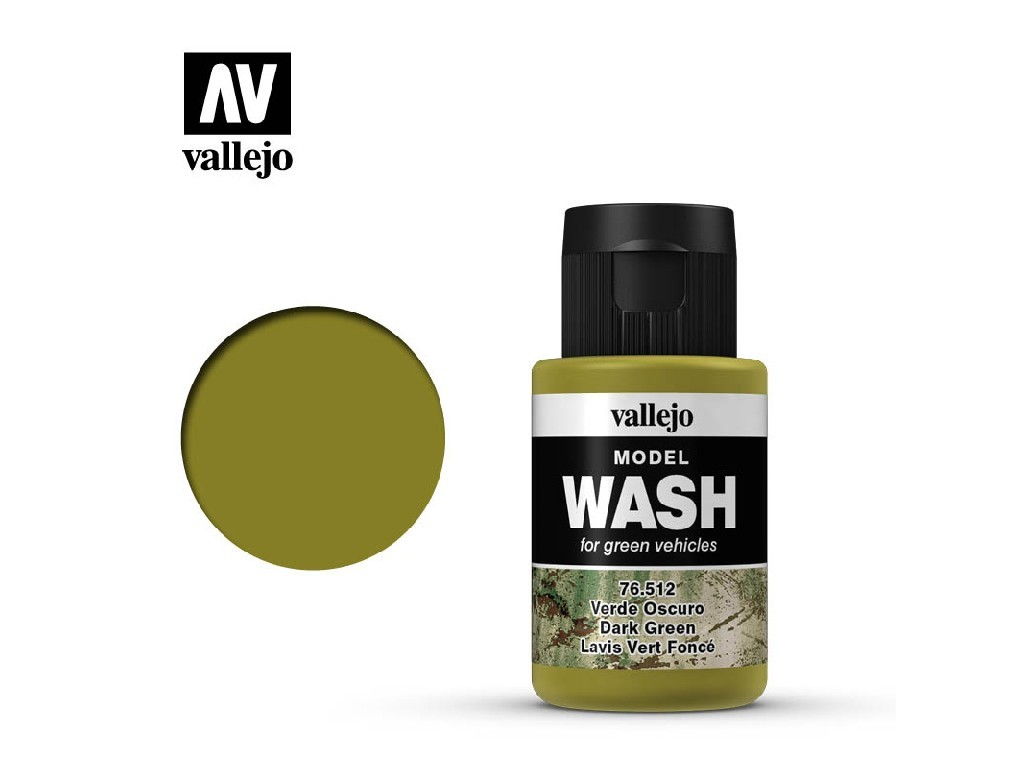 Vallejo - Model Wash 76512 Dark Green 35 ml.