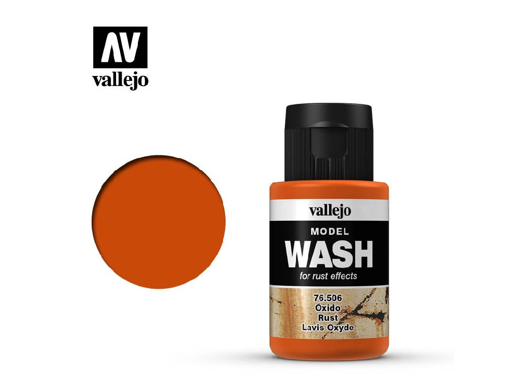 Vallejo - Model Wash 76506 Rust 35 ml.