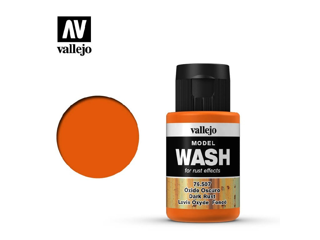 Vallejo - Model Wash 76507 Dark Rust 35 ml.