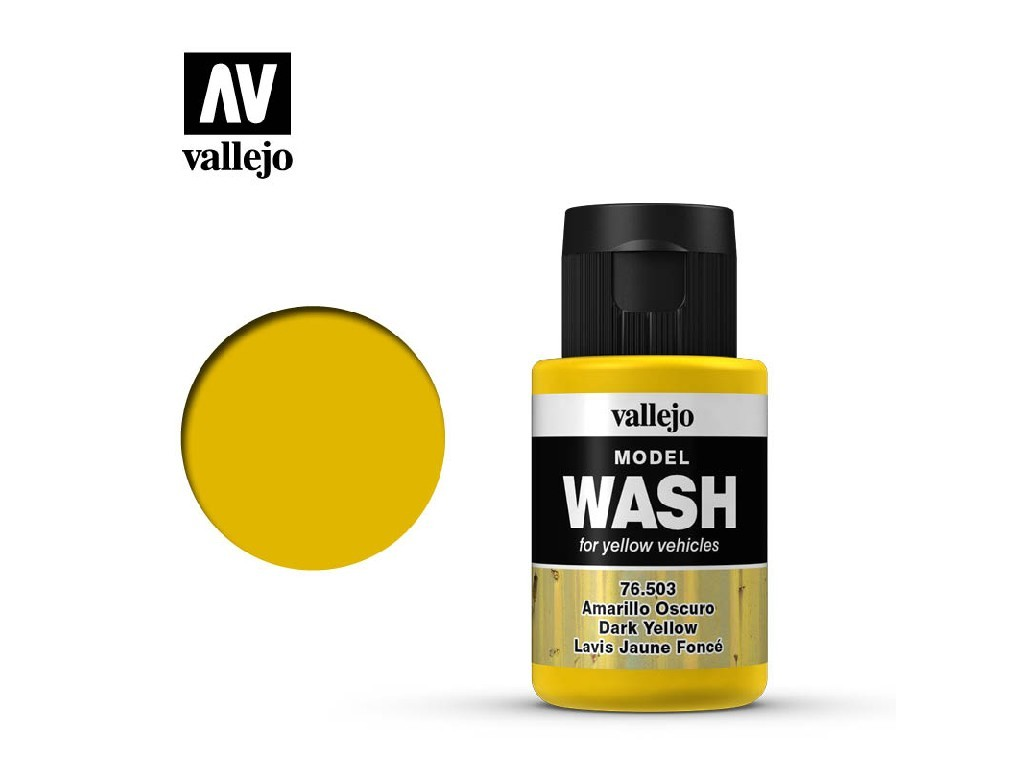 Vallejo - Model Wash 76503 Dark Yellow 35 ml.