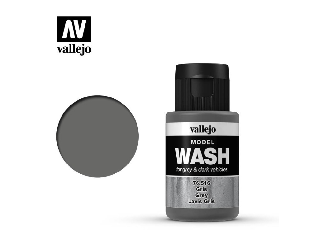 Vallejo - Model Wash 76516 Grey 35 ml.