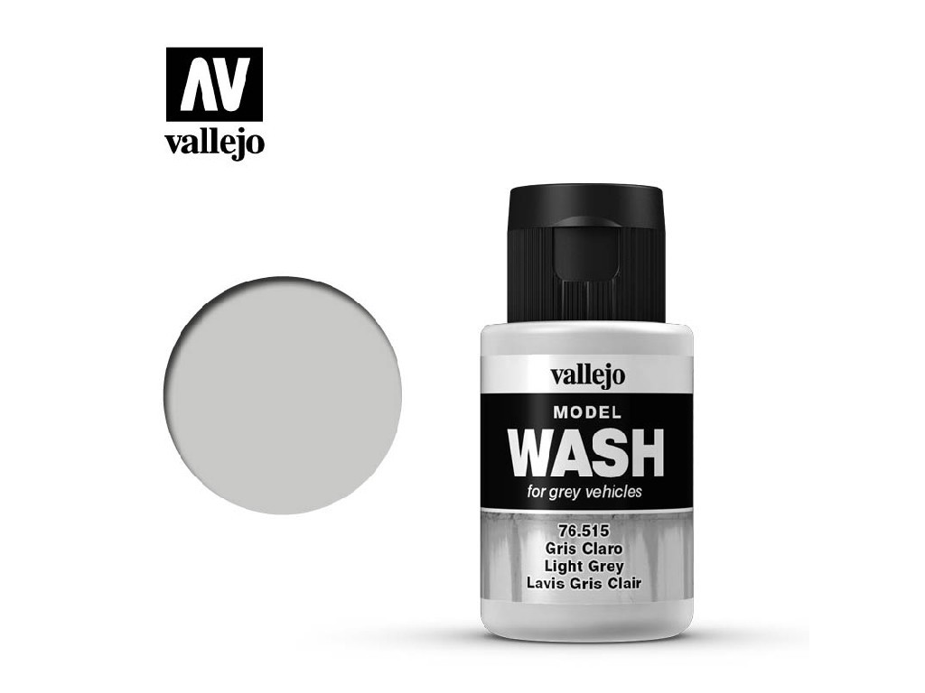 Vallejo - Model Wash 76515 Light Grey 35 ml.