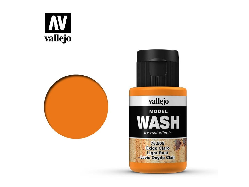 Vallejo - Model Wash 76505 Light Rust 35 ml.