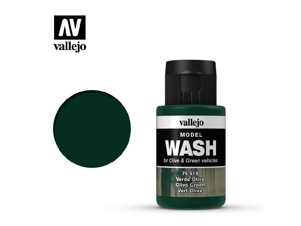 Vallejo - Model Wash 76519 Olive Green 35 ml.