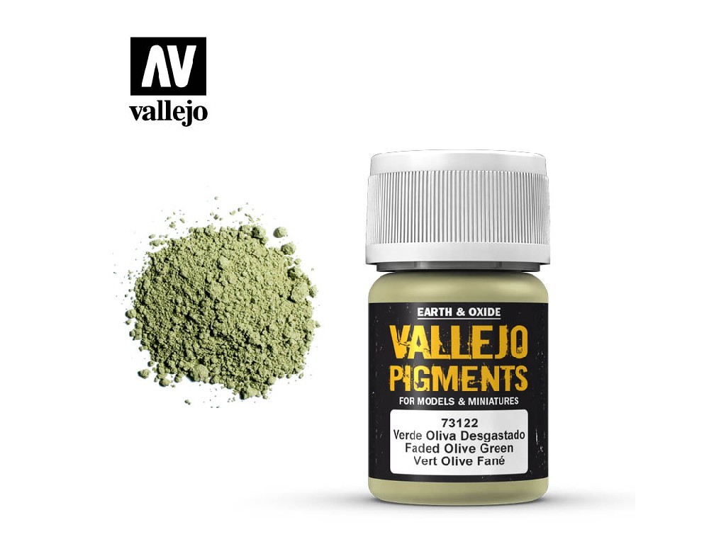 Vallejo - Pigmenty 73122 Faded Olive Green 35 ml.