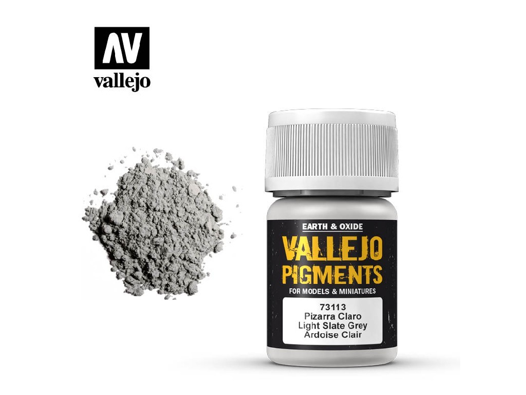 Vallejo - Pigmenty 73113 Light Slate Grey 35 ml.