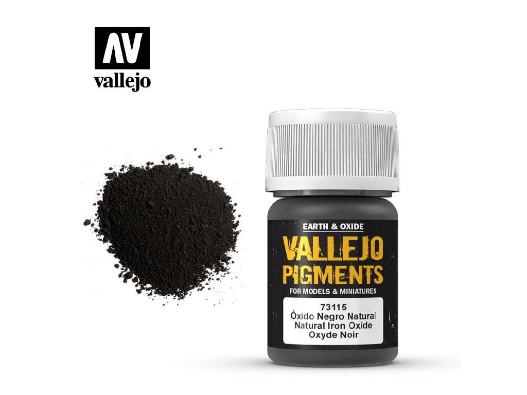 Vallejo - Pigmenty 73115 Natural Iron Oxide 35 ml.