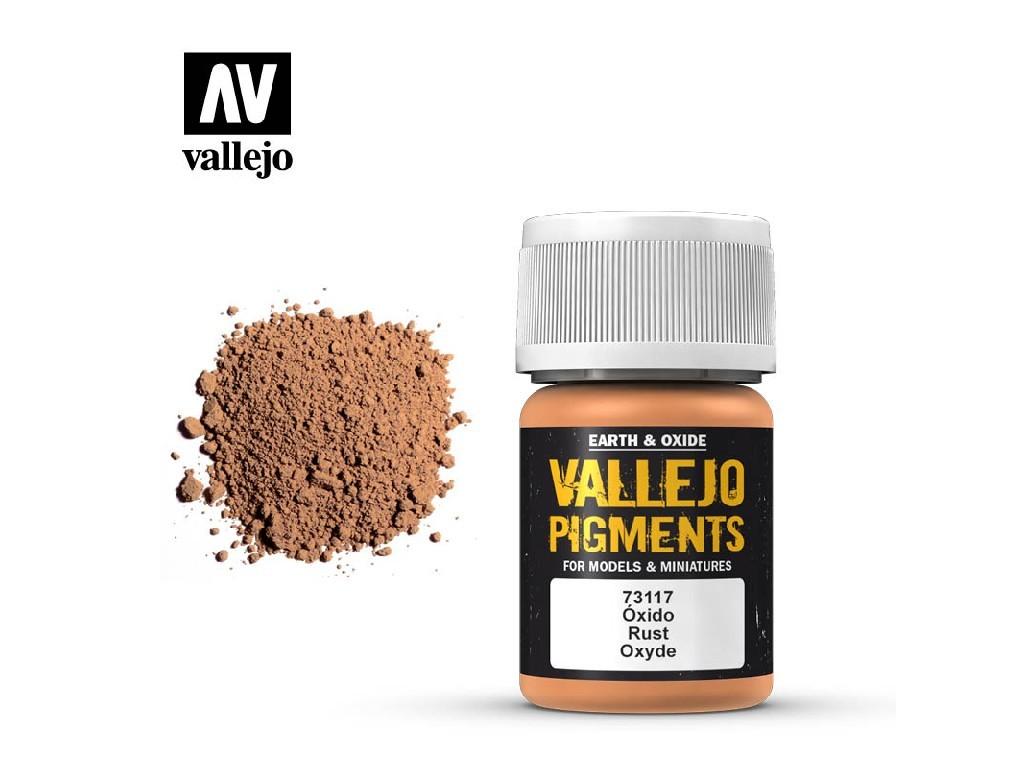 Vallejo - Pigmenty 73117 Rust 35 ml.