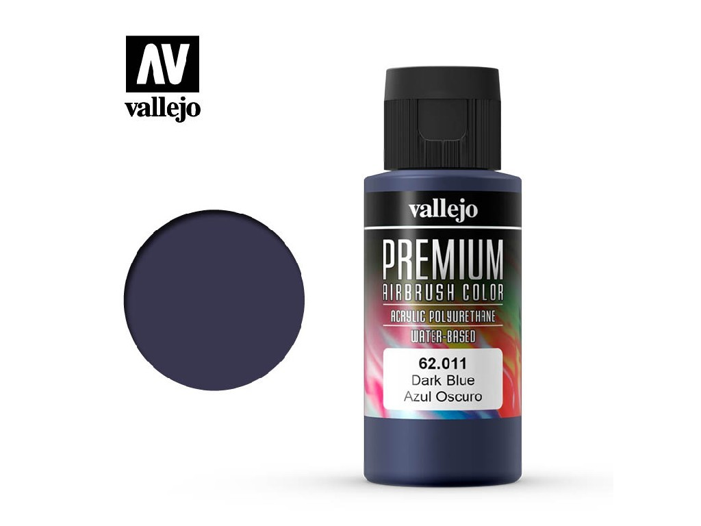 Vallejo - Premium Color 62011 Dark Blue 60 ml.
