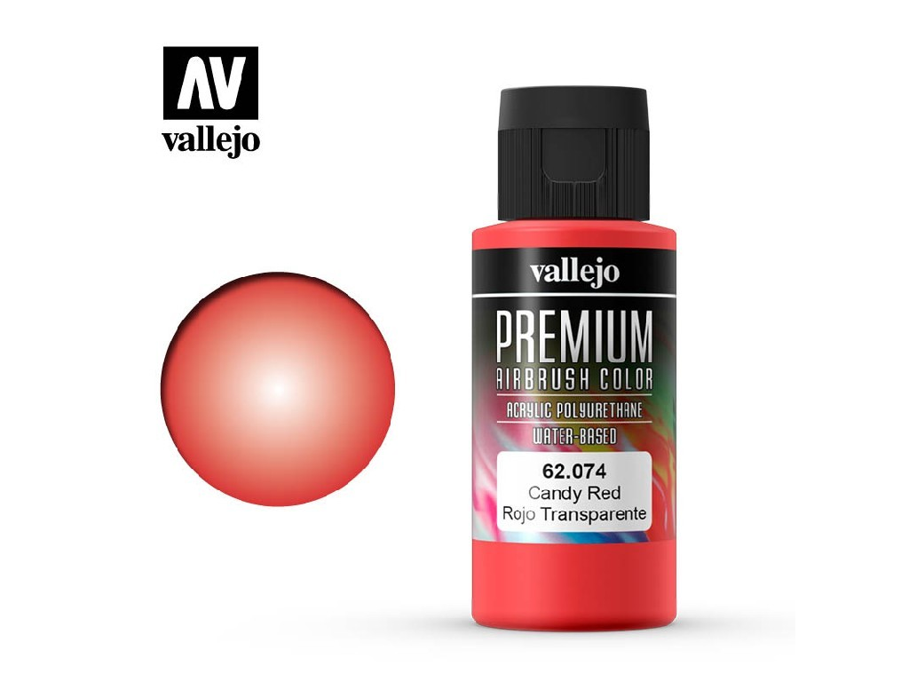 Vallejo - Premium Color 62074 Candy Red 60 ml.