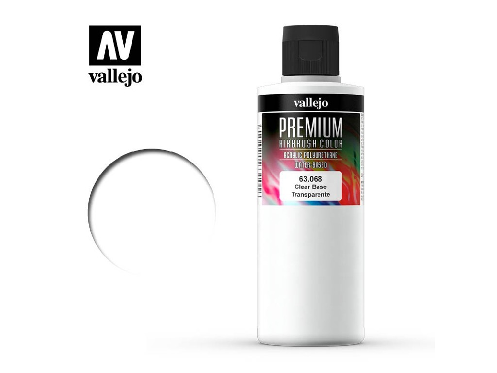 Vallejo -  63068 Premium Color Clear Base 200 ml.