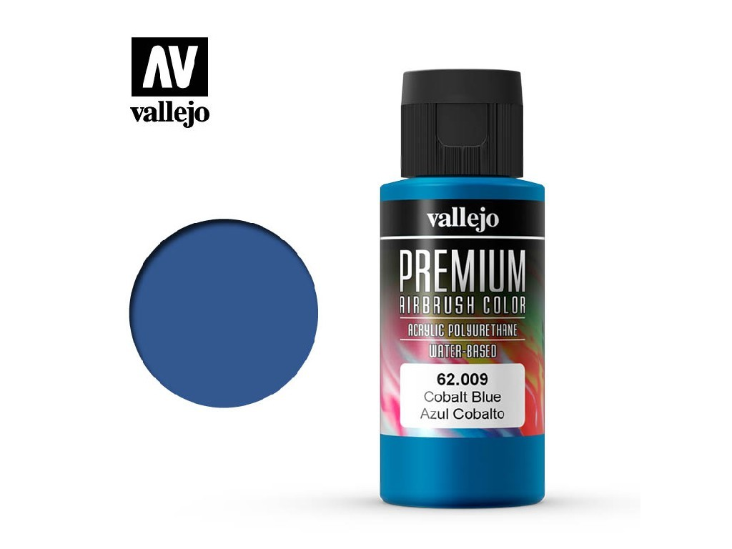 Vallejo - Premium Color 62009 Cobalt Blue 60 ml.