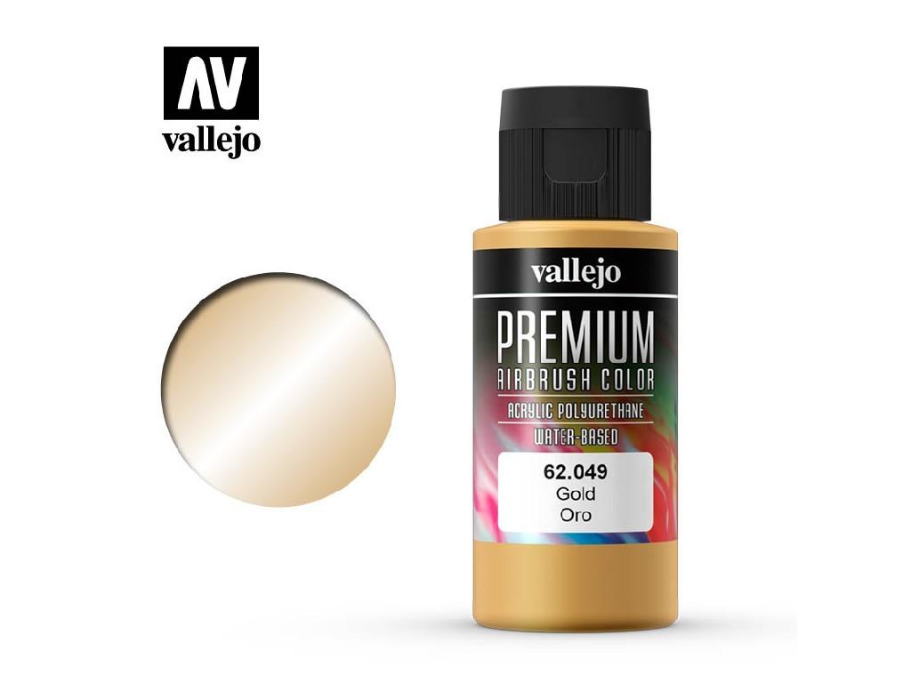 Vallejo - Premium Color 62049 Gold 60 ml.