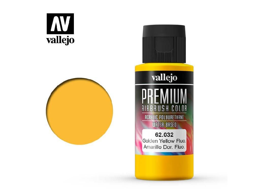 Vallejo - Premium Color 62032 Gondel Yellow Fluo 60 ml.