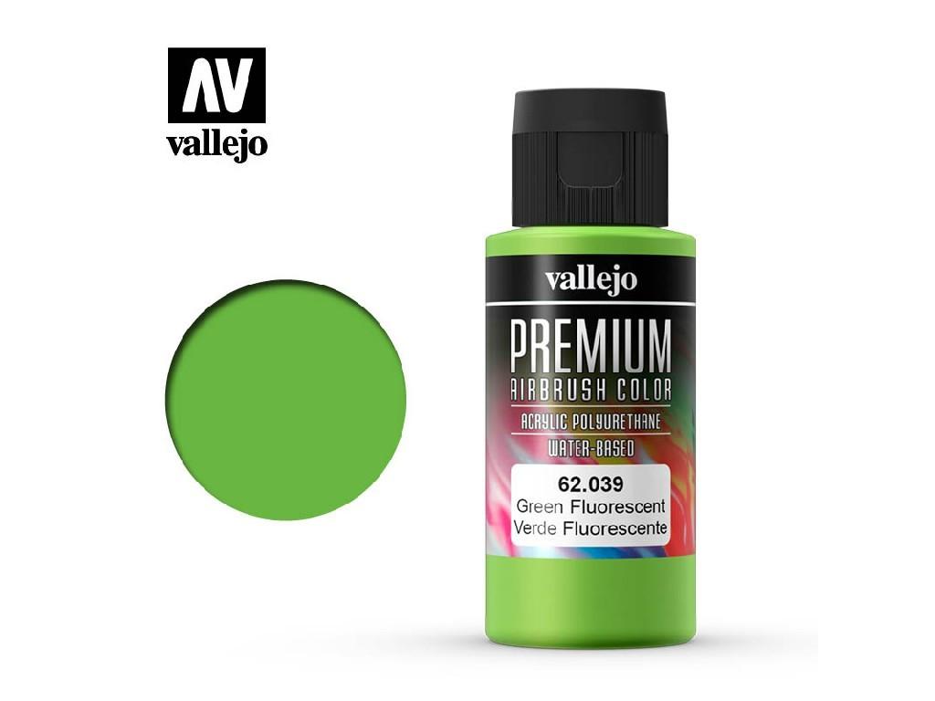 Vallejo - Premium Color 62039 Green Fluo 60 ml.