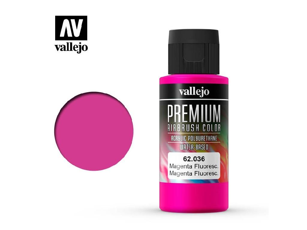 Vallejo - Premium Color 62036 Magenta Fluo 60 ml.