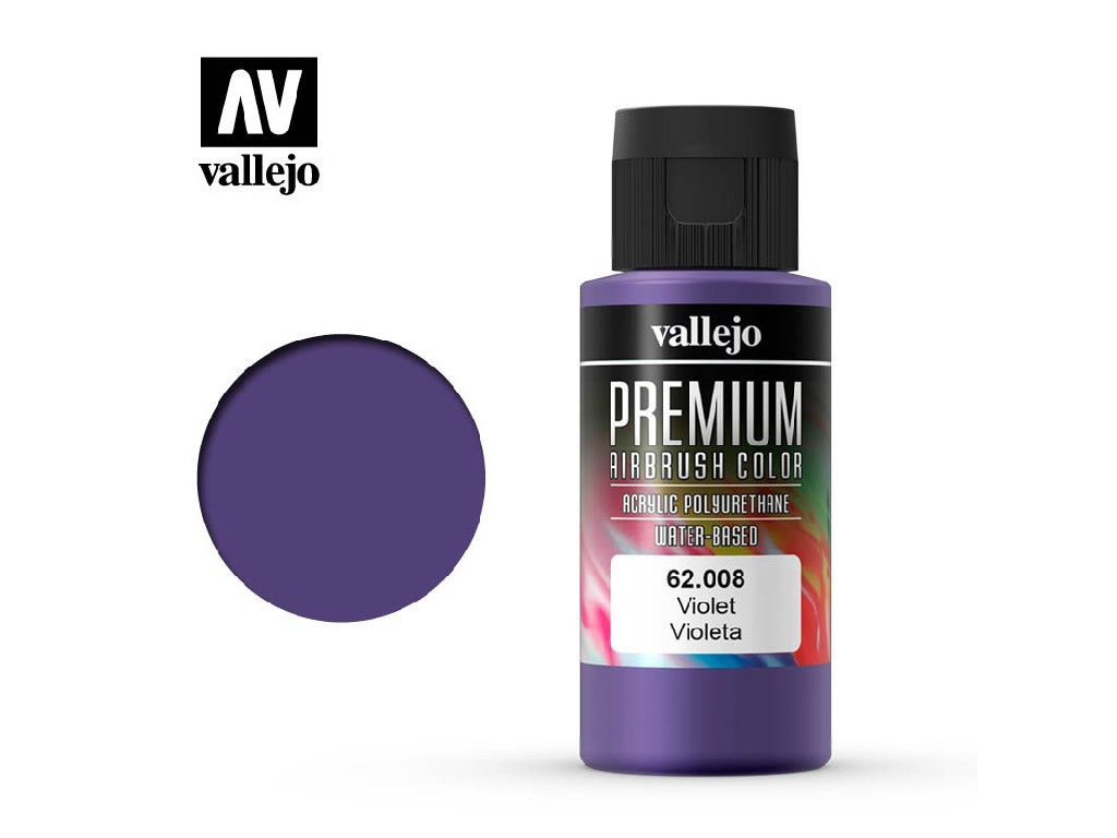 Vallejo - Premium Color 62008 Violet 60 ml.
