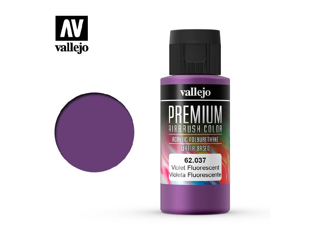 Vallejo - Premium Color 62037 Violet Fluo 60 ml.